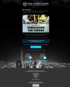 how to purchase TSS tokens