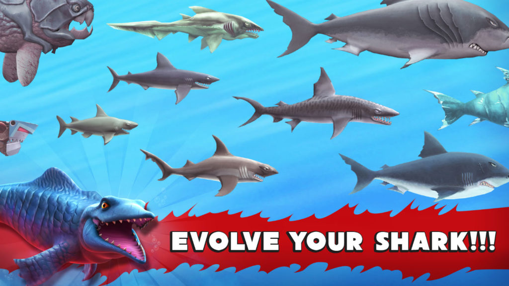 Unlock stronger sharks!