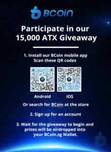 BCoin ATX airdrop