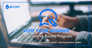 BCoin Bounty BlogVoteWinner