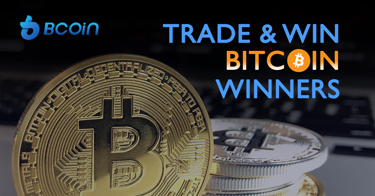 BCoin trade and win bitcoin