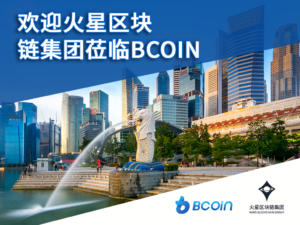 BCoin welcome banner