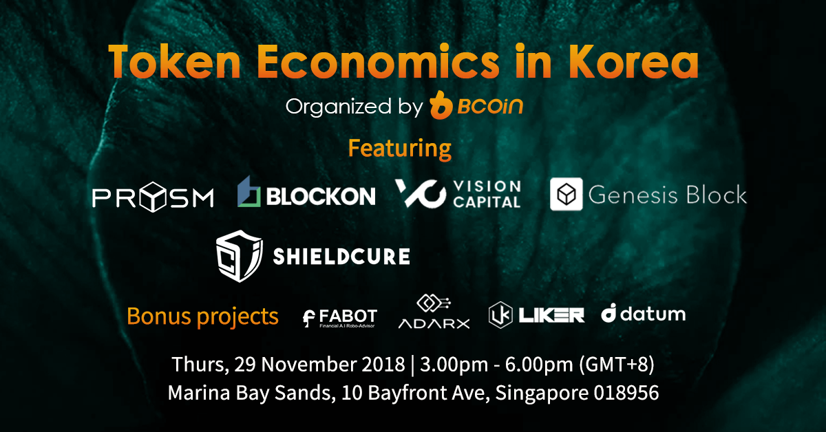 token economies in Korea BCoin