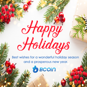 BCoin Christmas Instagram